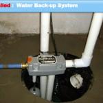 Grain Valley Missouri back up sump pump system