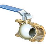 Water shut off installation, stop valve, Plumber